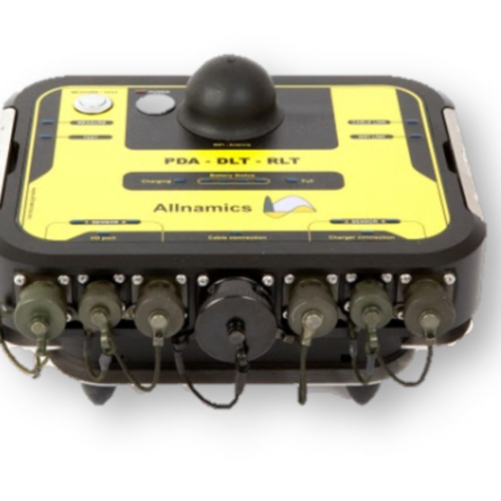 The powerful PDR: Specially designed for measuring in rough site conditions, and data transmission without cables