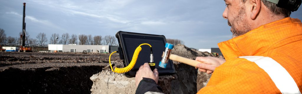 Allnamics-SIT Sonic Integrity Testing for low strain impact testing of deep foundations