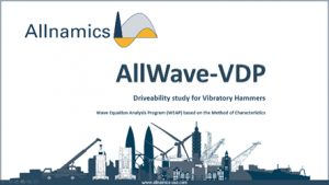 AllWave-VDP Driveability Software for Vibratory Driving