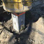Dynamic Load Testing on prefab concrete piles