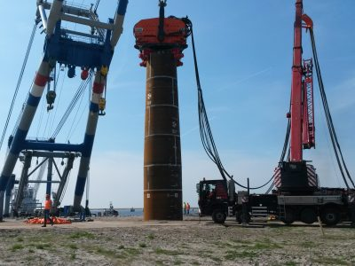 VDA Vibratory Driving Analysis for both onshore and offshore (monopiles)