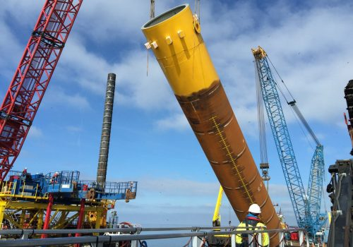 PDR Wireless PDA monitoring on monopiles for Offshore Wind Farms