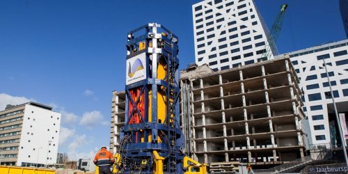 StatRapid device ready in Down Town Utrecht to perform Rapid Load Testing