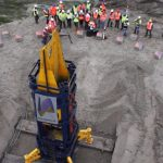 StatRapid Load Testing of 12 MN for deep foundations of wind turbine at Urk, The Netherlands